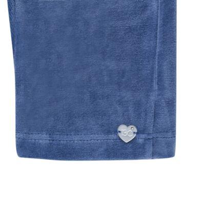 Imagem 5 do produto Bata c/ Calça para bebe em plush Sweetheart - Baby Classic - 976891.186 CONJUNTO BATA COM CALÇA PLUSH PINK-M