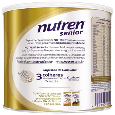 Imagem 6 do produto Nutren Senior 370g -