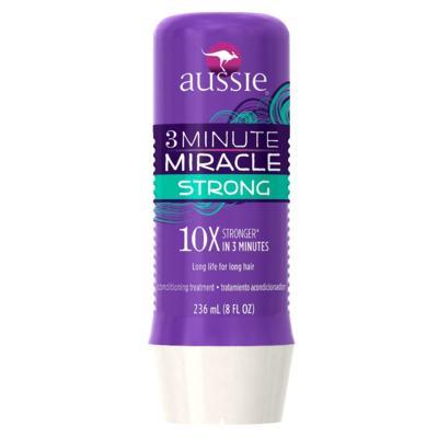 Imagem 3 do produto Kit Shampoo Aussie Smooth 400ml + Tratamento Capilar Aussie Strong 3 Minutos Milagrosos 236ml
