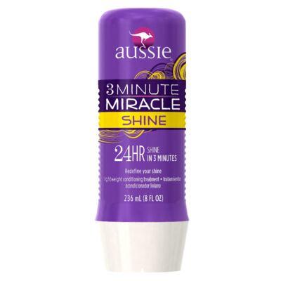 Imagem 3 do produto Kit Shampoo Aussie Smooth 400ml + Tratamento Capilar Aussie Shine 3 Minutos Milagrosos 236ml