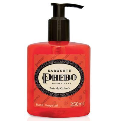 Imagem 2 do produto Sabonete Líquido Phebo Raiz do Oriente 250ml 2 Unidades + Sabonete Phebo Frescor da Manhã 90g