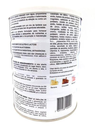 Imagem 2 do produto Complemento Alimentar Ensure Baunilha 400g 2 Unidades