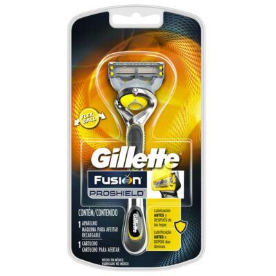 Imagem 2 do produto Kit Gillette Aparelho Barbeador Proglide Pro Shield + Aparelho Body + 2 Cargas