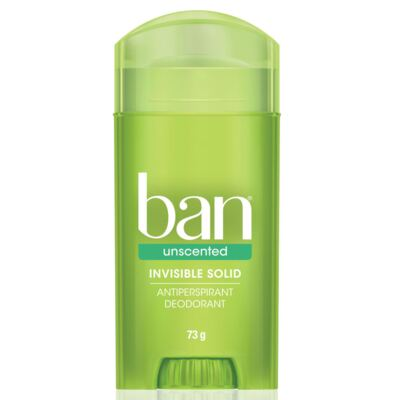 Desodorante Ban Stick Unscented Sem Perfume 73g