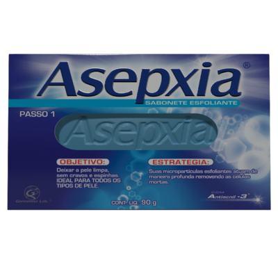 Imagem 2 do produto Kit Asepxia 2 Sabonetes Esfoliante 90g + Maquiagem Creme Antiacne Claro 10g