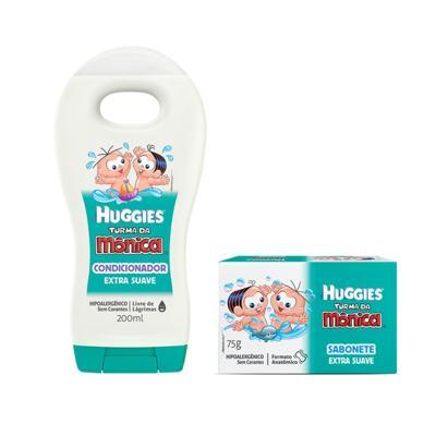 Shampoo Turma da Mônica 200ml Suave + Sabonete Turma da Mônica 75gr Suave