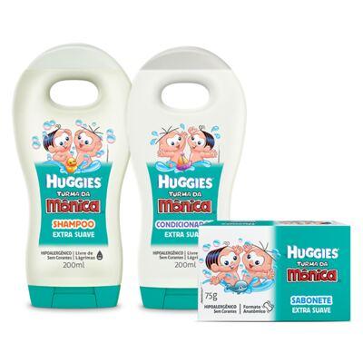 Imagem 1 do produto Shampoo e Condicionador Turma da Mônica + Sabonete
