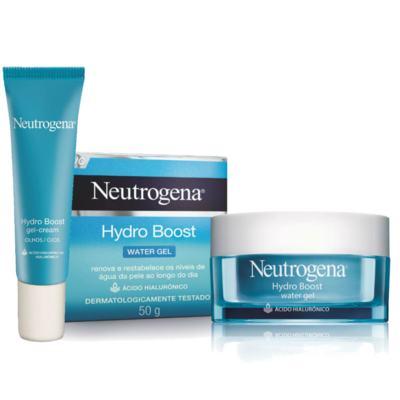 Imagem 1 do produto Kit Neutrogena Hydro Boost Hidratante Facial Water Gel + Gel Creme Hidratante Olhos 15g