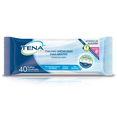 Imagem 3 do produto Compre 2  Roupas Íntimas Absorventes Feminina Tena M + Toalha Umedecida Tena Adulto 40 Unidades
