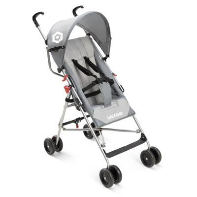 Imagem 1 do produto Carrinho de Bebê Guarda-chuva Weego Way Cinza