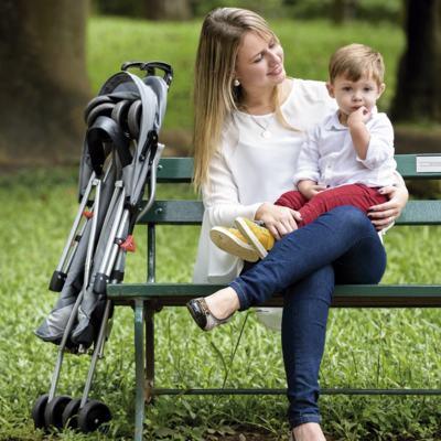 Imagem 7 do produto Carrinho de Bebê Guarda-chuva Weego Way Cinza