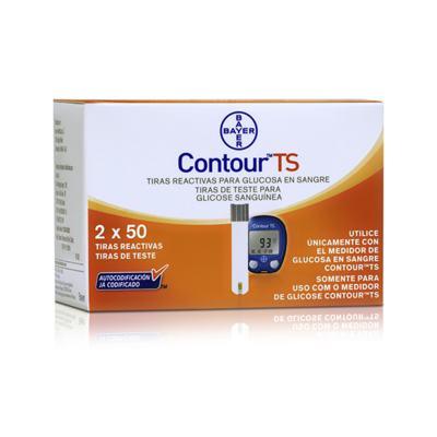 Contour TS Bayer 100 Tiras