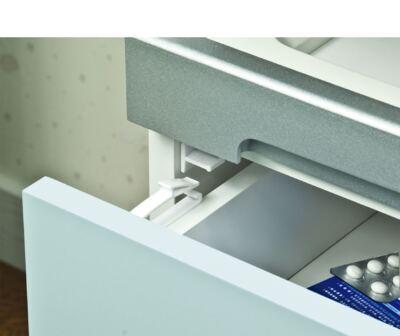 Imagem 2 do produto Trava Interna para Gaveta 2 Unidades Multikids Baby - BB261