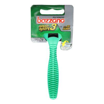 Imagem 3 do produto Kit Bozzano Espuma de Barbear Refrescante 190g + Aparelho de Barbear Speed 3