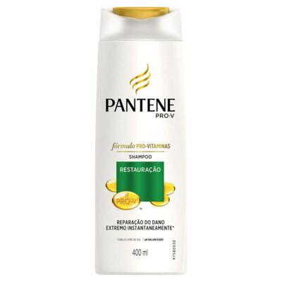 Imagem 2 do produto Kit Pantene Restaruração Shampoo + Condicionador 400ml