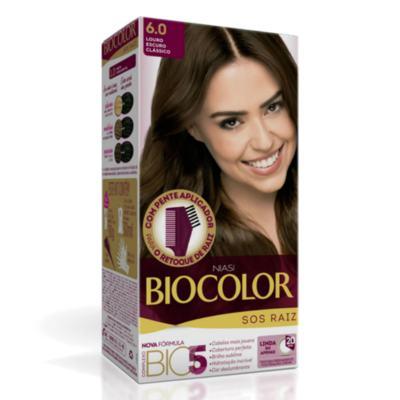 Imagem 3 do produto Kit Biocolor Tintura 4.0 Castanho Médio + S.O.S Raiz Louro Escuro 6.0