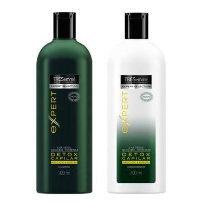 Imagem 1 do produto Kit Tresemmé Expert Detox Capilar Shampoo 400ml + Condicionador 400ml
