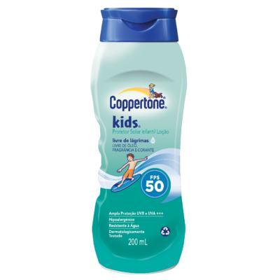 Protetor Solar Coppertone Kids FPS 50 200ml