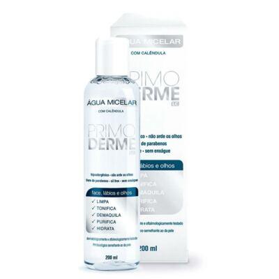 Imagem 2 do produto Kit Água Micelar Primoderme Calêndula 200ml + Primoderme Emulsão Hidratante Calêndula 100ml