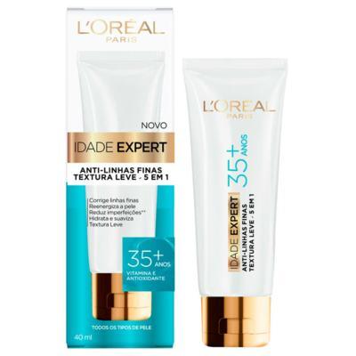 Imagem 2 do produto Kit L'Oréal Creme Antissinais Idade Expert 35+ 40ml + Lenço de Limpeza Micelar 25 Unidades