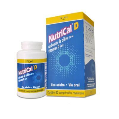 Nutrical D - 500mg + 2mg   60 comprimidos revestidos