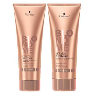 Imagem 1 do produto Schwarzkopf  Schwarzkopf Professional BC Blond Me All Blondes Kit - Shampoo +  Condicionador - Kit