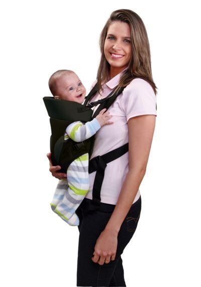 Imagem 2 do produto Canguru para Bebê Baby Safe (Preto) Multikids Baby - BB014