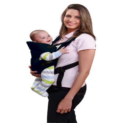 Imagem 2 do produto Canguru para Bebê Baby Safe (Azul) Multikids Baby - BB004