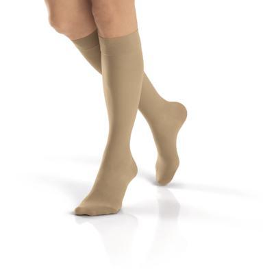 Imagem 2 do produto Meia Panturrilha 30-40 Mmhg Ultra Sheer Jobst - NATURAL PONTEIRA FECHADA XG
