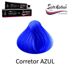 Coloracao Profissional SOFTCOLLOR PERFECT 60g - MIXTOM CORRETORES - MIX Corretor AZUL