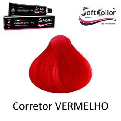 Coloracao Profissional SOFTCOLLOR PERFECT 60g - MIXTOM CORRETORES - MIX Corretor VERMELHO