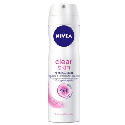 Imagem 1 do produto Desodorante Nivea Aerosol Clear Skin Feminino 150ml
