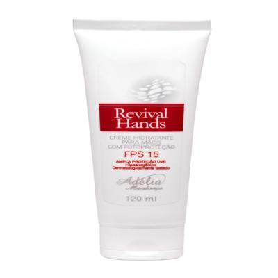 Revival Hands 120ml - Creme Hidratante para as Mãos com Fotoproteção FPS 15 - 120 ml