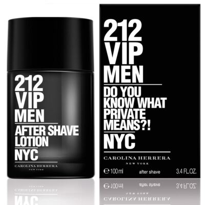 Imagem 1 do produto 212 Vip Men After Shave Masculino de Carolina Herrera - 100ml