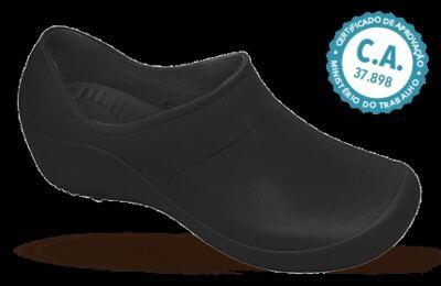 Sapato Profissional Feminino Mary Preto Boa Onda - 38