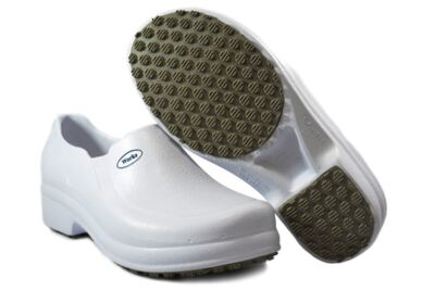 Imagem 2 do produto Sapato Profissional Babuch BB65 Branco Soft Works - 35