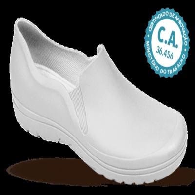 Sapato Profissional Masculino Enzo Branco Boa Onda - 42
