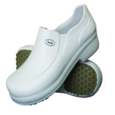 Sapato Profissional Babuch BB65 Branco Soft Works - 44
