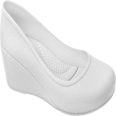 Sapato Profissional Feminino Caren Branco Boa Onda - 38