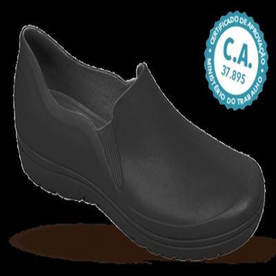 Imagem 1 do produto Sapato Profissional Masculino Enzo Preto Boa Onda - 37