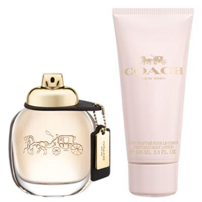 Imagem 1 do produto Coach Woman Coach - Feminino - Eau de Parfum - Perfume + Loção Corporal - Kit