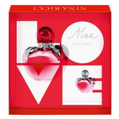 Imagem 1 do produto Nina Nina Ricci - Feminino - Eau de Toilette - Perfume + Miniatura - Kit