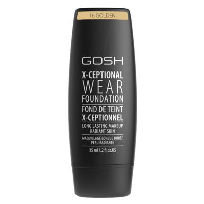 Base Facial Gosh Copenhagen - X-ceptional Wear Foundation - Golden