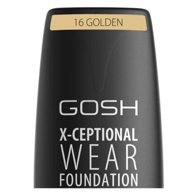 Imagem 5 do produto Base Facial Gosh Copenhagen - X-ceptional Wear Foundation - Golden