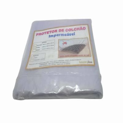 Capa Protetora Para Colchão Kountry Line Slip Solteiro 01829 Casca de Ovo - 0,09 X 1,90 X 0,20M