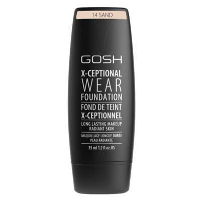 Imagem 1 do produto Base Facial Gosh Copenhagen - X-ceptional Wear Foundation - Sand