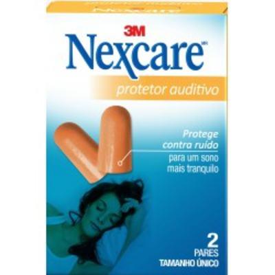 Imagem 1 do produto Protetor Auditivo Nexcare 3M 2 Pares