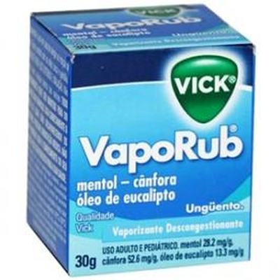 Vick VapoRub Pomada 30g