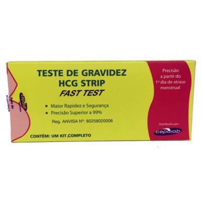 Teste de Gravidez Fast Test - HCG Strip