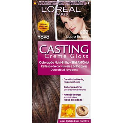 Tintura L'Oréal Casting Gloss 600 Louro Escuro